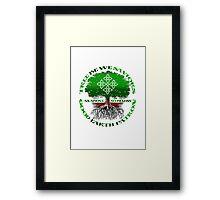 good earth Framed Print