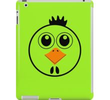 chicken with Yellow nose Cartoon animation iPad Case/Skin