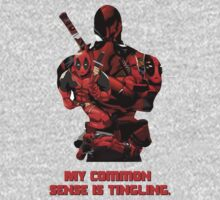 "Deadpool ""My Common Sense Is Tingling."" Kids Clothes"
