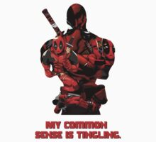 """Deadpool """"My Common Sense Is Tingling."""" Kids Clothes"""