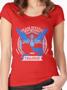 Team Mystic Trainer Women's Fitted Scoop T-Shirt