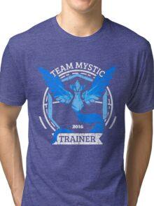 Team Mystic Trainer Tri-blend T-Shirt