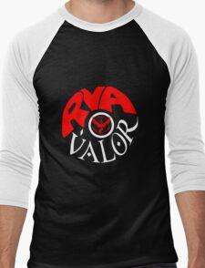 Team Valor RVA - Pokeball Version Men's Baseball ¾ T-Shirt
