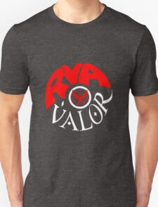 Team Valor RVA - Pokeball Version Unisex T-Shirt