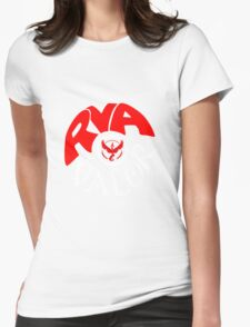 Team Valor RVA - Pokeball Version Womens Fitted T-Shirt