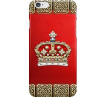 Crown of Scotland  iPhone Case/Skin