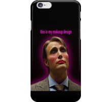 This Is my Makeup Design iPhone Case/Skin