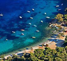 Mourtia beach - Samos island by Hercules Milas