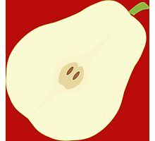 Awesome Fruit Pear Design drawing Photographic Print