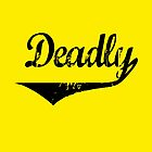 Deadly Yellow throw by KISSmyBLAKarts