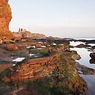 Tantallon and Oxcart Bay by Christopher Cullen