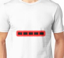 Morse Code Number 0 Unisex T-Shirt