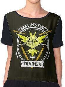 Join Team Instinct Chiffon Top