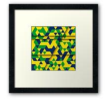 Abstract Rio de Janeiro Framed Print