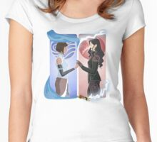 Korrasami Women's Fitted Scoop T-Shirt