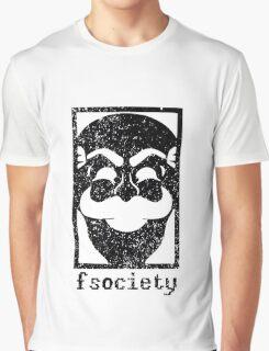 Mr Robot - Fsociety Graphic T-Shirt