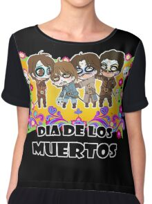 The Musketeers Day of the Death Chiffon Top