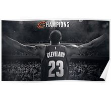 Cleveland Cavaliers Champions Poster