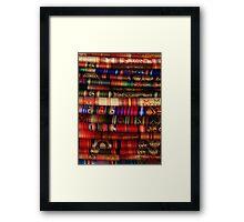 Handmade Blankets Framed Print