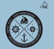 Nautical Boating t-shirt - East Peak by springwoodbooks