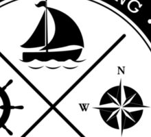 Nautical Boating t-shirt - East Peak Sticker