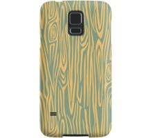Green/yellow wooden texture Samsung Galaxy Case/Skin