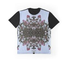 Flower Lace Graphic T-Shirt