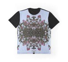 Flower Lace Graphic T-Shirt