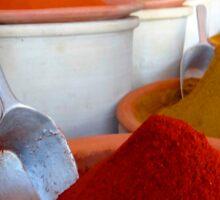 Djerba Spice Hills Sticker