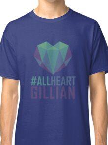 #AllHeartGillian - Blue Classic T-Shirt