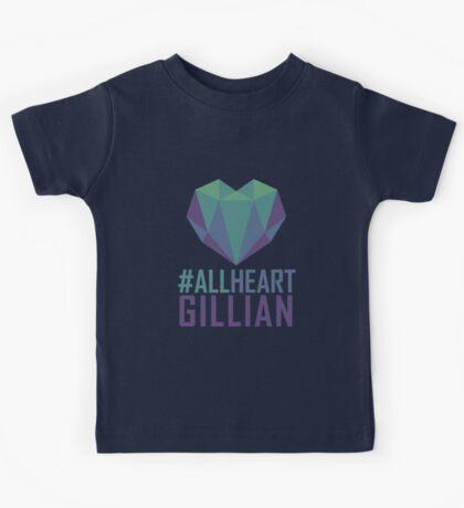 #AllHeartGillian - Blue Kids Tee