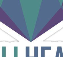 #AllHeartGillian - Blue Sticker
