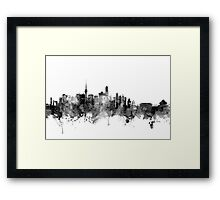 Beijing China Skyline Framed Print
