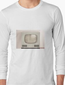 Old Television Long Sleeve T-Shirt