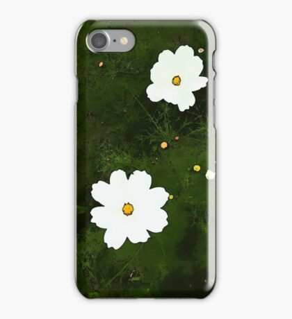 Daisies on Green iPhone Case/Skin
