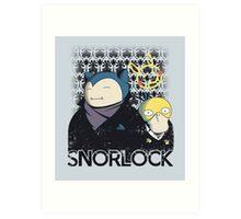 Snorlock Art Print