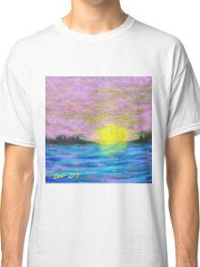 Hazy, Lazy Sunset Classic T-Shirt