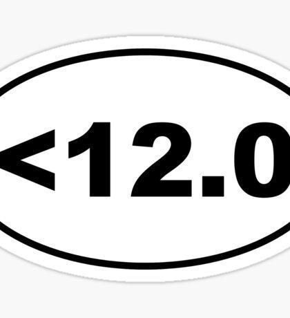 Kessel Run Sticker Sticker