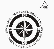 Boating t-shirt Compass - East Peak Apparel by springwoodbooks