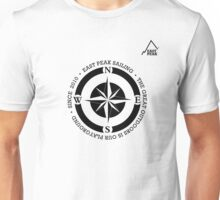 Boating t-shirt Compass - East Peak Apparel Unisex T-Shirt