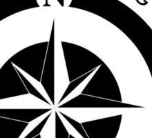 Boating t-shirt Compass - East Peak Apparel Sticker