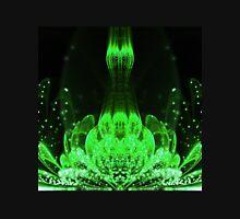Matrix Flower - Abstract Fractal Artwork Womens Fitted T-Shirt