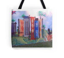 Concurso de Grafitis en mi ciudad...... Tote Bag