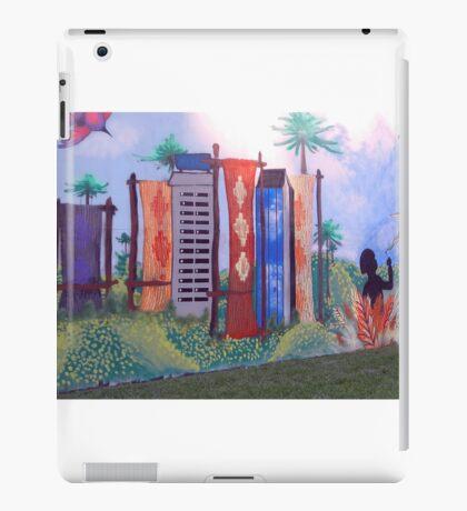 Concurso de Grafitis en mi ciudad...... iPad Case/Skin
