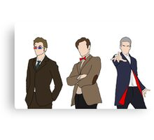Three Doctors Canvas Print