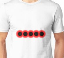 Morse Code Number 5 Unisex T-Shirt
