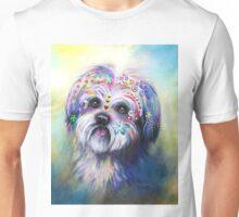 Boho Shih Tzu Unisex T-Shirt