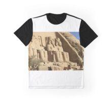 Rameses Temple Abu Simbel Graphic T-Shirt