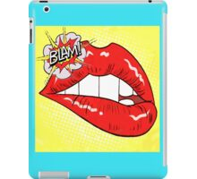 Blam Mouth - Pop Art Style iPad Case/Skin