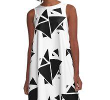 Triangle Patterns A-Line Dress